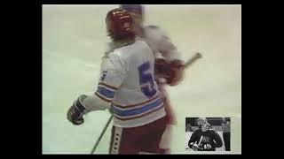 Viktors Hatuļevs. Gols pret Bostonas Bruins.
