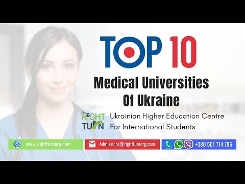 Top 10 Medical Universities In Ukraine | Study Medicine (MBBS) In Ukraine