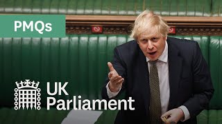 Prime Minister's Questions: 23 September 2020