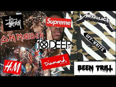 MY ENTIRE CLOTHING COLLECTION!!! SUPREME, STUSSY, BEEN TRILL, DIAMOND SUPPLY AND MORE!!