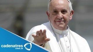 Detalles de la llegada de la primer visita del Papa Francisco a Brasil
