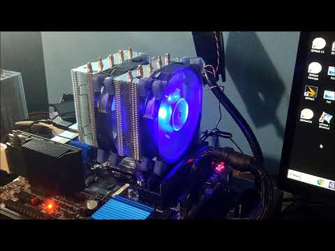 £23 AliExpress VTG 5 CPU Cooler In Depth Temperature Testing