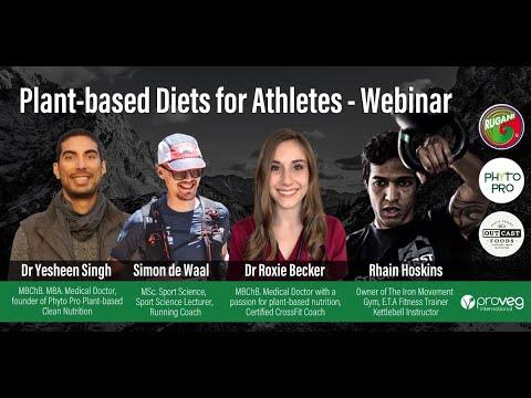 Plant-based Diets for Athletes - Live Webinar (30/07/2020)
