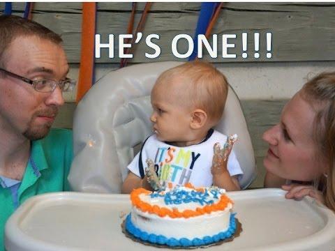 CARSON'S 1ST BIRTHDAY!