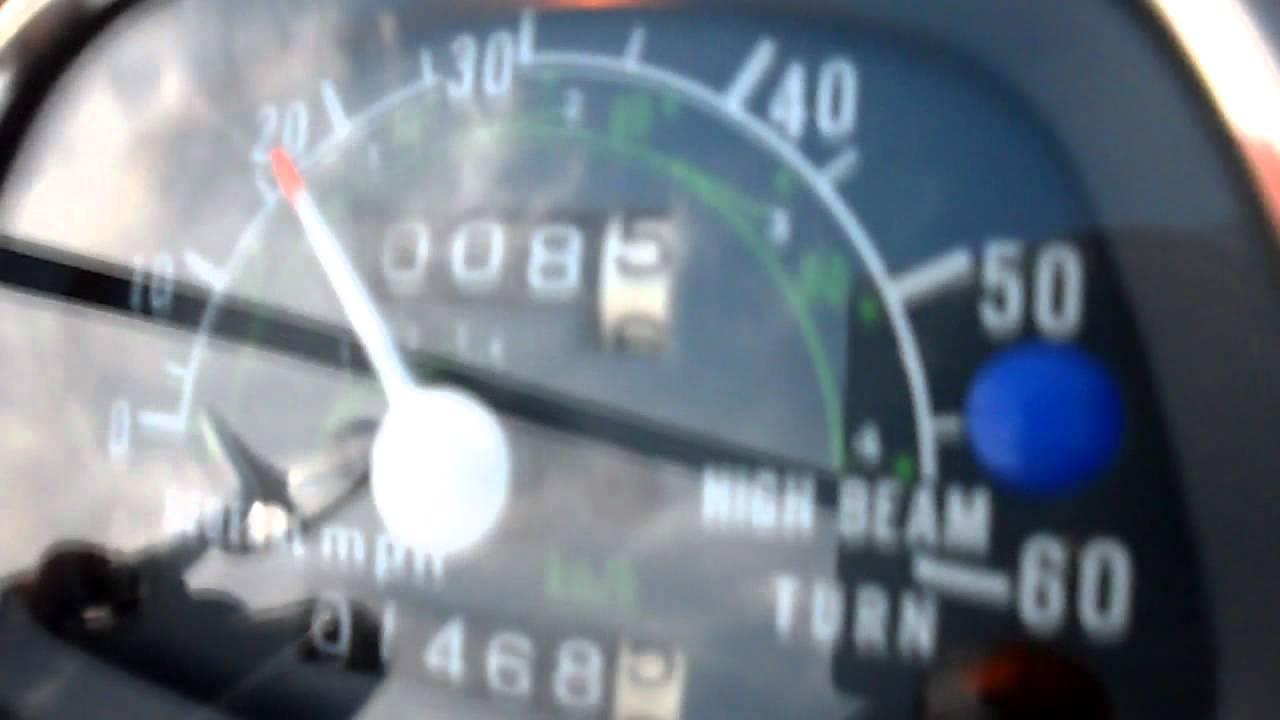 Honda Ct90 Speedometer Repaired Finally Youtube Ct 90 K 1 Wiring Diagram
