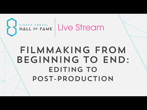 Filmmaking From Beginning to End: Editing to Post-Production