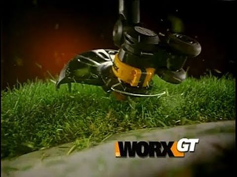 Review The Worx Gt 24 Volt Lithium Ion Trimmer Edger Youtube