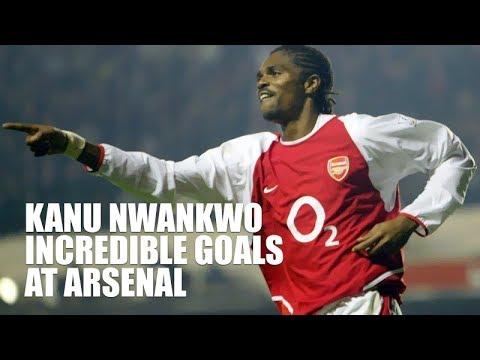 Kanu Nwankwo - Incredible Arsenal Goals