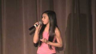 "Danika sings ""Stand Up for Love""  by Beyonce.dv"