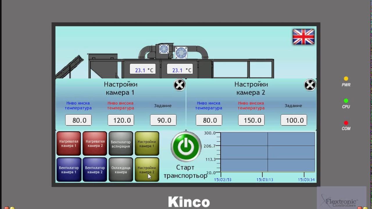 Kinco HMI Demo
