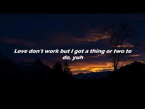 (lyrics) // JAXXON D. SILVA x Lil Peep - Poor Thing