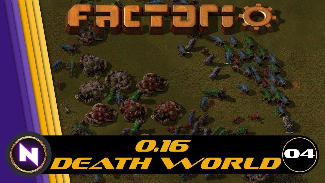 Factorio 0 16 Bugs Everywhere - E04 MAIN BUS - Nilaus