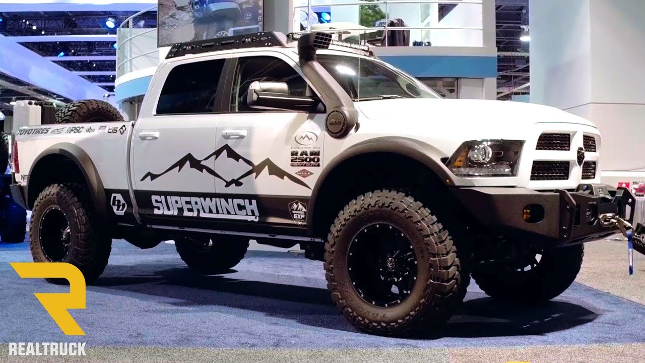 Expedition One Adventure Ready Dodge Ram 2500 Cummins | SEMA 2017 - YouTube