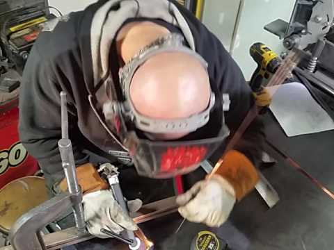 Fabrication: Squaring up and tig welding the top of a battery box