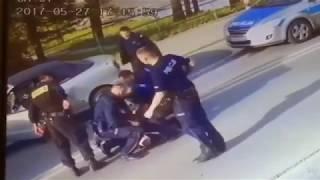 Pościg i zatrzymanie 82 letniego kierowcy. Nowy Targ 27.05.2017r