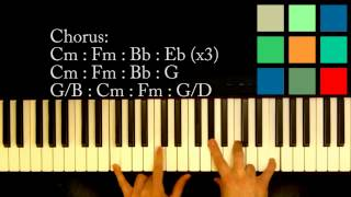 """Download How To Play """"This Love"""" Piano Tutorial (Maroon 5) Mp3"""
