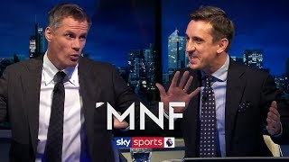 Gary Neville & Jamie Carragher's hilarious analysis of their own performances at Kompany testimonial