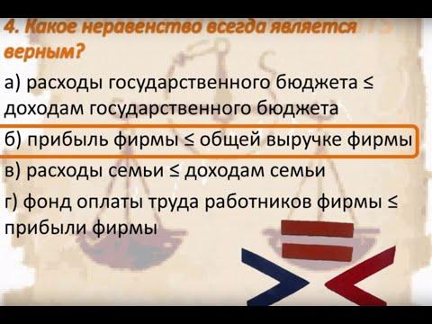 Всероссийская олимпиада по экономике, муниципальный этап 2014г., 9 класс