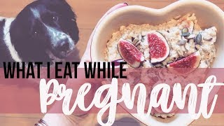 What I Eat In A Day PREGNANCY EDITION | Fleur De Force