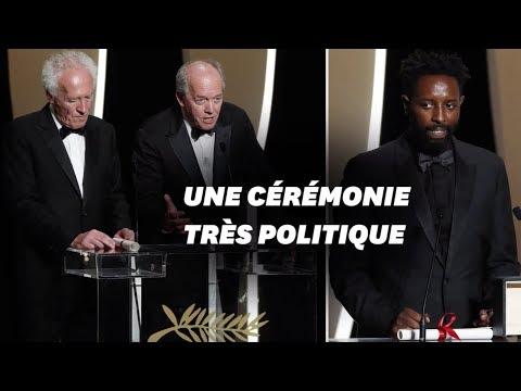 Au Festival de Cannes, la politique s'invite à la cérémonie de clôture