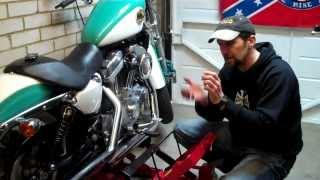 Delboy's Garage, How-To;- Harley Belt care