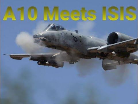 US Jets Target ISIS base in Iraq | Bombing and Gun Runs | DCS World Sim