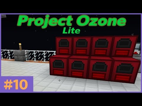 HermitCraft - Project Ozone Lite - E10 - POWER!