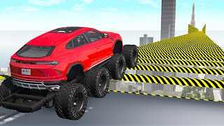 Air Speed Bumps Crashes #3 - Beamng drive