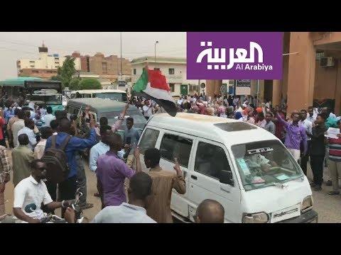 الإضراب السياسي يدخل يومه الأول لتسليم السلطة للمدنيين