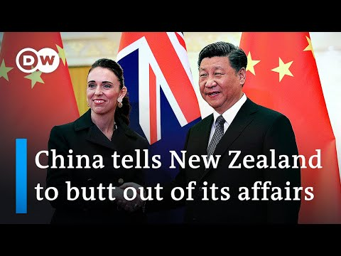 New Zealand takes tougher stance on China's human rights record | DW News