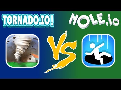 HOLE.IO VS. TORNADO.IO   WHICH IS THE BETTER GAME NOW?
