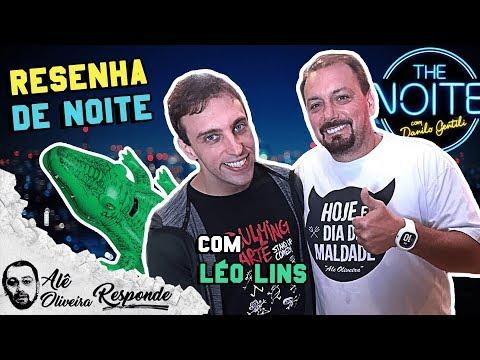 CERVEJA E PIADA COM LÉO LINS, DO THE NOITE - ALÊ OLIVEIRA RESPONDE #34