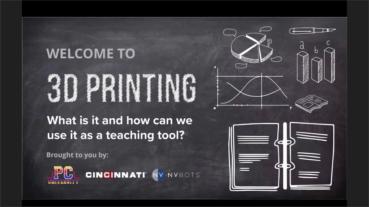 3D Printing - What is it and how can we use it as a teaching tool? Cincinnati Incorporated Webinar