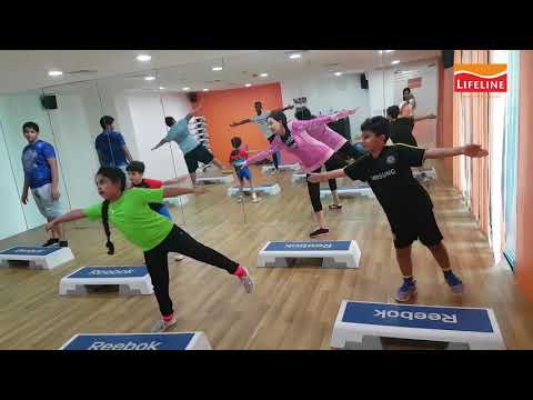 Kids Aerobics - LifeLine Wellness Gym Abu Dhabi UAE