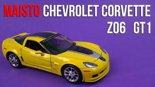 Розпакування Maisto (1:24) 2009 Chevrolet Corvette Z06 GT