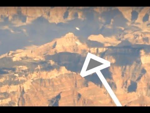 Два НЛО пролетели над Большим Каньоном США