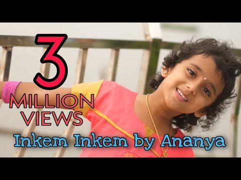 Inkem Inkem Telugu song cover by Sun Singer Ananya