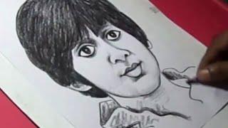How to Draw FILM HERO Victory VENKATESH SON Drawing