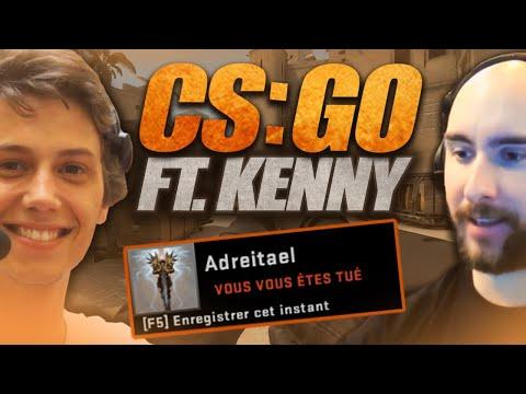 Vidéo d'Alderiate : [FR] COUNTER STRIKE AVEC LE BRO KENNY