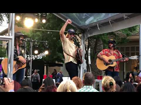 Midland Live Austin The Domain Band Drinking Problem on the rocks burn out cma