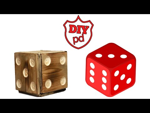 How to Make Magnetic Dice Drink Coasters - DIY Decor Ideas