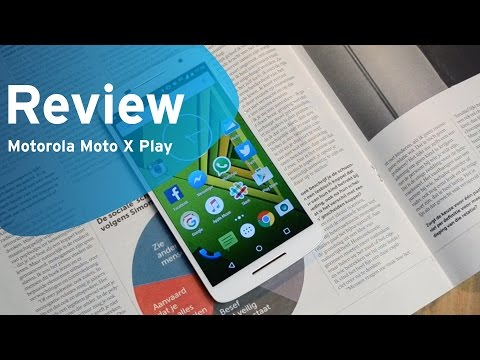 Motorola Moto X Play review (Dutch, BE)
