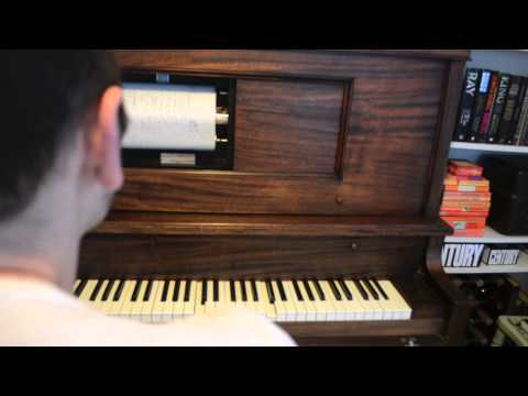 1926 Playotone player piano / pianola plays 'Black and White Minstrel Show'