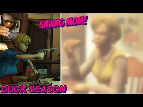 HOW TO SAVE MOM   Duck Season #2 GOOD ENDING [Best Men]