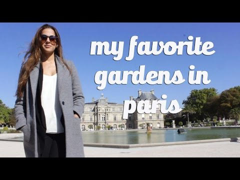 Paris, Part 2: Paris Gardens || Evan Antin and Nathalie Basha