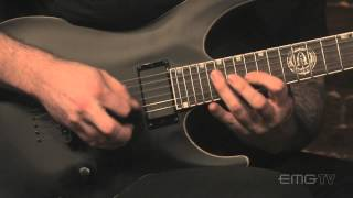 Andy James guitar playing is amazing, watch What Lies Beneath on EMGtv
