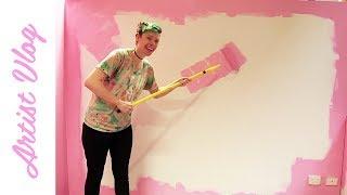 Artist Vlog #15   Redbubble residency begins!