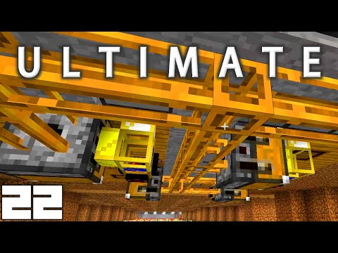 Minecraft Mods FTB Ultimate - OIL PRODUCTION !!! [E22] (HermitCraft Modded Server)