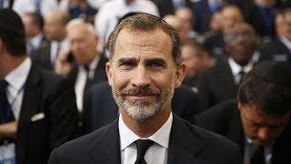 Король Испании Филипп VI впервые на Кубе