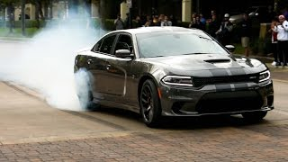BURNOUTS ON BURNOUTS!!--Houston Coffee and Cars March 2017